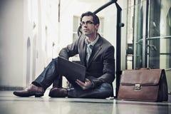 Elegant businessmen Stock Photos