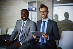 Elegant businessmen Stock Photography