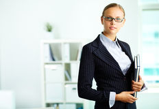 Elegant businesswoman Stock Image