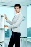 Elegant businesswoman Stock Photos