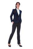 Elegant businesswoman Stock Images