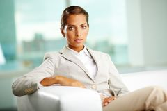 Elegant businesswoman Royalty Free Stock Photography