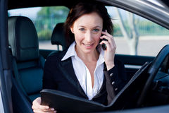 Elegant businesswoman Royalty Free Stock Photos