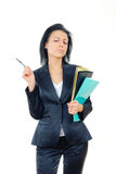Elegant businesswoman Stock Photo