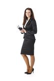 Elegant businesswoman with personal calendar Royalty Free Stock Images