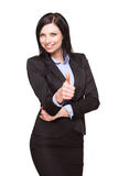 Elegant businesswoman. Stock Photography