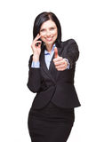 Elegant businesswoman. Stock Photo
