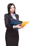 Elegant businesswoman. Stock Image