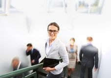 Elegant businesswoman Royalty Free Stock Images