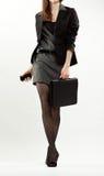 Elegant businesswoman walking Royalty Free Stock Photography