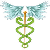 Elegant Caduceus Stock Images