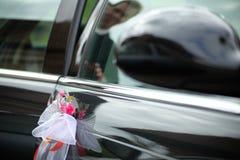 The elegant car for a wedding celebration Royalty Free Stock Image