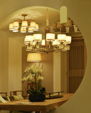 Elegant ceiling lighting Stock Photography