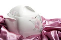 Elegant ceramic plate Royalty Free Stock Images