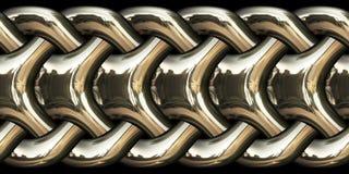 Elegant chain in gold Stock Photos