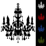 Elegant Chandelier Stock Photo