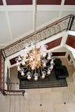 Elegant chandelier Stock Photography