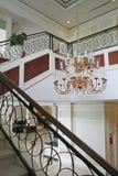 Elegant chandelier Royalty Free Stock Images