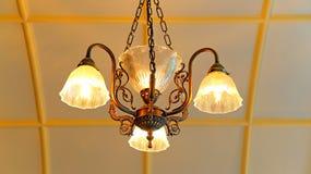 Elegant chandelier stock image