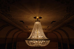 Elegant Chandeliers Stock Photography