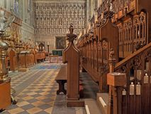 Chapel of Magdalen College Stock Photography