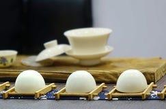 Elegant Chinese Tea Set Stock Photography