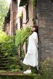 An elegant chinese woman Royalty Free Stock Photo