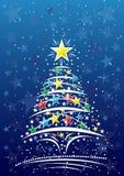 Elegant Christmas background Stock Image