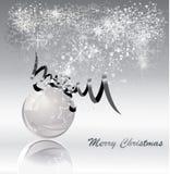 Elegant christmas background Stock Images