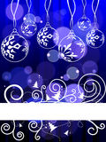 Elegant christmas background Stock Photography