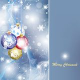 Elegant Christmas Background Royalty Free Stock Photos