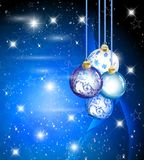 Elegant Christmas Background. With place for text Stock Photos