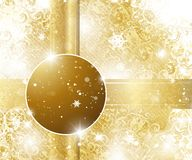 Elegant Christmas Background. With place for text Royalty Free Illustration