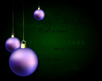 Elegant christmas background Stock Photos