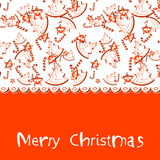 Elegant Christmas Background. Royalty Free Stock Photo
