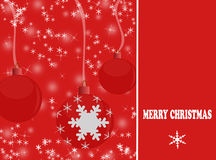 Elegant christmas background Royalty Free Stock Images