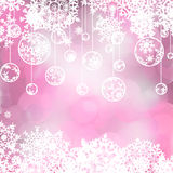 Elegant christmas background. EPS 8 Stock Photo