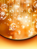 Elegant christmas background. EPS 8. Vector file included Royalty Free Stock Photos