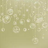 Elegant Christmas Background. EPS 8. Vector file included Stock Photography