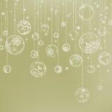 Elegant Christmas Background. EPS 8 Stock Photography