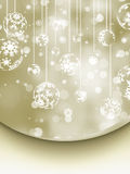 Elegant Christmas Background. EPS 8. Vector file included Stock Photo