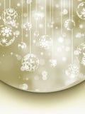 Elegant Christmas Background. EPS 8 Stock Photo