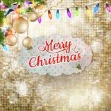 Elegant christmas background. EPS 10 Royalty Free Stock Photography