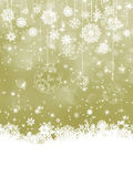 Elegant Christmas background. EPS 8 Stock Photos