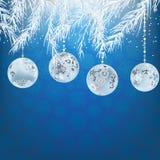 Elegant christmas background. + EPS8 Stock Photography