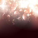 Elegant Christmas background with golden stars. EPS10 royalty free illustration