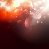 Elegant Christmas background with golden stars. EPS10 vector illustration