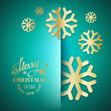 Elegant Christmas background Royalty Free Stock Photography