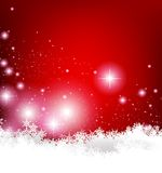 Elegant Christmas background Stock Photo