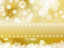 Elegant christmas background invitation. EPS 8 Royalty Free Stock Image